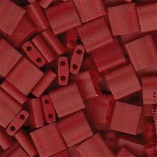 Для украшений ручной работы. Ярмарка Мастеров - ручная работа. Купить Миюки ТИЛА 2040 opaque satin matte red 10гр. Handmade.