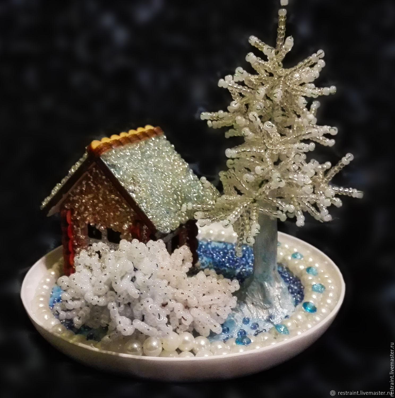 поделка зимняя фантазия фото поверхность