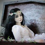 Куклы и игрушки ручной работы. Ярмарка Мастеров - ручная работа Панночка фарфоровая шарнирная кукла. Handmade.