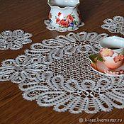 Свадебный салон handmade. Livemaster - original item Set of lace napkins. Handmade.