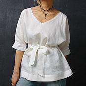 Одежда ручной работы. Ярмарка Мастеров - ручная работа Блуза- Крапива. Handmade.