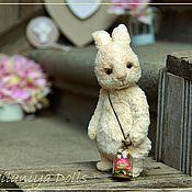 Куклы и игрушки handmade. Livemaster - original item Friends Teddy. The author`s work. Teddy-Bunny.. Handmade.