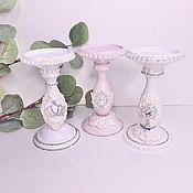 Для дома и интерьера handmade. Livemaster - original item candlesticks: candlesticks. Handmade.