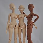 Куклы и игрушки ручной работы. Ярмарка Мастеров - ручная работа Шарнирная полиуретановая кукла голышка. Предзаказ на ноябрь. Handmade.