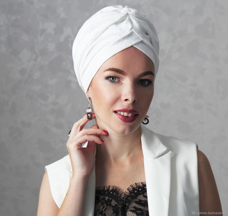 Turban-turban 'Jacquard', Caps, Ekaterinburg,  Фото №1