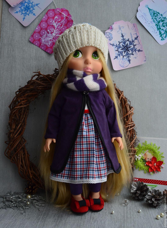 Как сшить пальто для куклы. Выкройка пальто для куклы / Мастер-класс 15