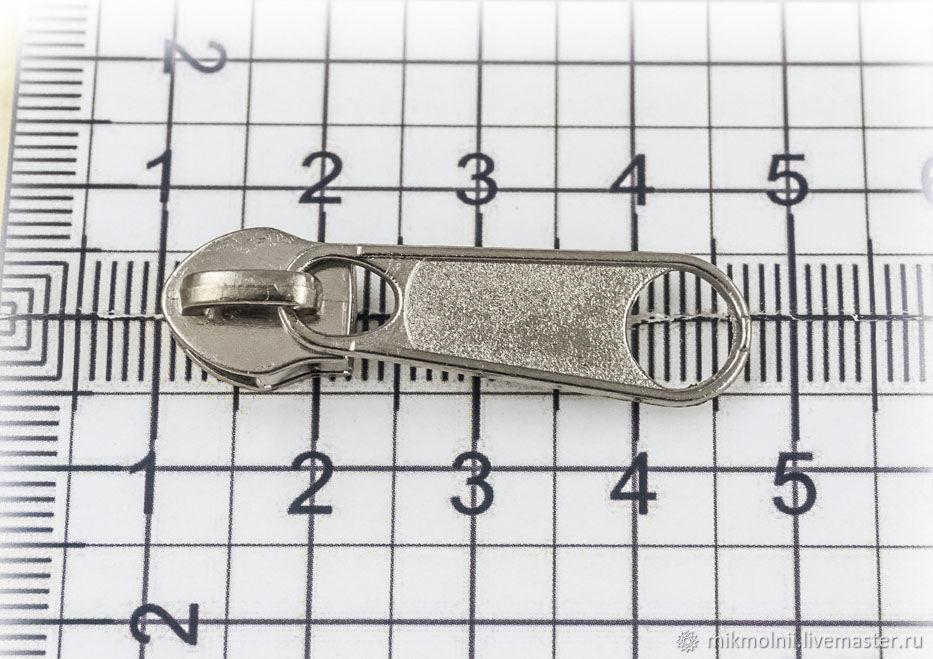 Бегунок для молнии №7 галантерейный простой, никель – купить на Ярмарке Мастеров – I7JBXRU | Молнии, Санкт-Петербург