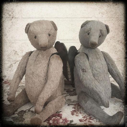 Мишки Тедди ручной работы. Ярмарка Мастеров - ручная работа. Купить Ангелы Мишки Тедди. Handmade. Комбинированный