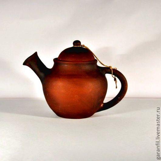 Чайники, кофейники ручной работы. Ярмарка Мастеров - ручная работа. Купить чайник заварочный. Handmade. Чайник, коричневый, глиняная посуда