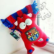 """Мягкие игрушки ручной работы. Ярмарка Мастеров - ручная работа Кот Саймона """"Барселона"""". Handmade."""