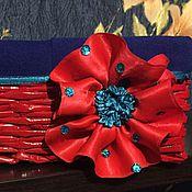 Для дома и интерьера ручной работы. Ярмарка Мастеров - ручная работа Корзинка цветочек. Handmade.