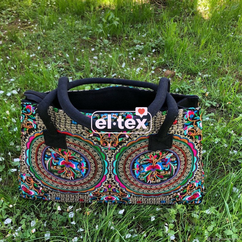 Women's bag, textile. No. №29, Classic Bag, Moscow,  Фото №1