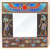 """Для дома и интерьера ручной работы. Ярмарка Мастеров - ручная работа Зеркало """"Египет"""". Handmade."""