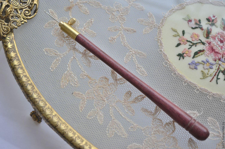 Крючок для вышивки своими руками