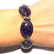 Украшения handmade. Livemaster - original item Bracelet made of natural amethyst. Handmade.