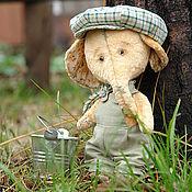 """Куклы и игрушки ручной работы. Ярмарка Мастеров - ручная работа Слоник """"Яша"""". Handmade."""
