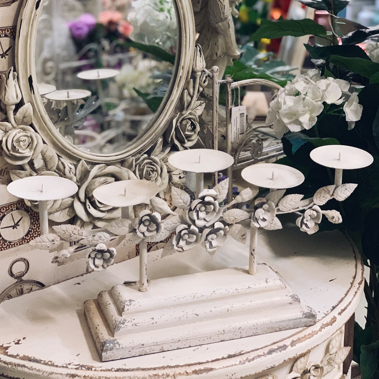 Подсвечник канделябр Старинная роза, Подсвечники, Москва, Фото №1