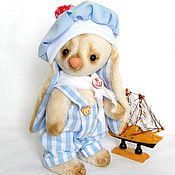 Куклы и игрушки ручной работы. Ярмарка Мастеров - ручная работа Зайчонок Ромка. Handmade.