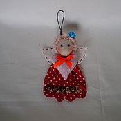 Куклы и игрушки handmade. Livemaster - original item Angel keychain. Handmade.