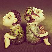 Для дома и интерьера ручной работы. Ярмарка Мастеров - ручная работа Мальчик и девочка.. Handmade.