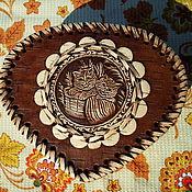 """Для дома и интерьера ручной работы. Ярмарка Мастеров - ручная работа Шкатулка из бересты """"Мягколапки"""". Handmade."""