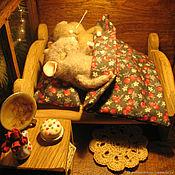 """Кукольные домики ручной работы. Ярмарка Мастеров - ручная работа Волшебный фонарь """"Вместе теплее"""". Handmade."""