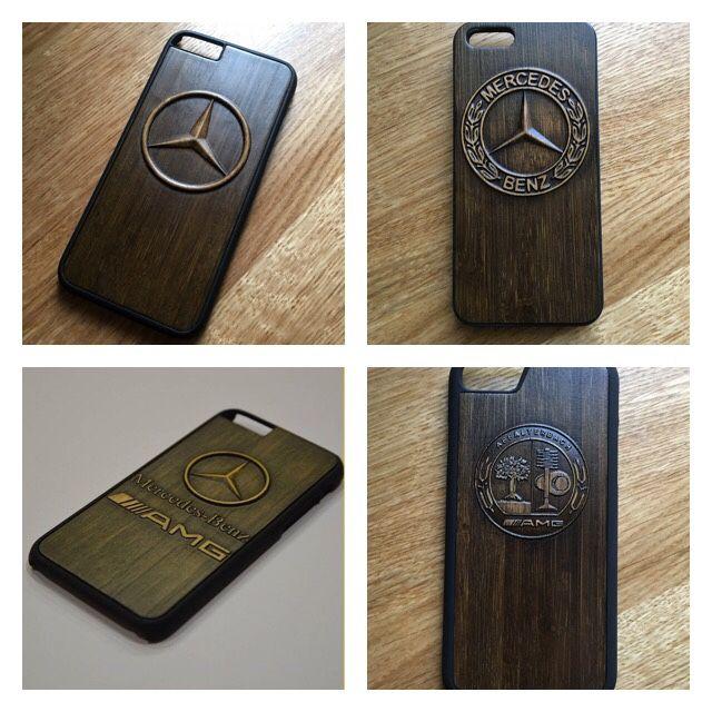 Для телефонов ручной работы. Ярмарка Мастеров - ручная работа. Купить Деревянный чехол iphone Mercedes. Handmade. Iphone, mercedes