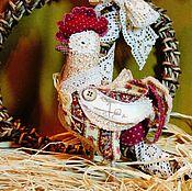 Куклы и игрушки ручной работы. Ярмарка Мастеров - ручная работа Петух - символ 2017. Handmade.
