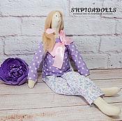 Куклы и игрушки ручной работы. Ярмарка Мастеров - ручная работа Кукла тильда -беременяшка. Handmade.
