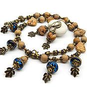 Украшения handmade. Livemaster - original item Necklace with Jasper. Necklace with natural stones. Beads made of Jasper. Handmade.
