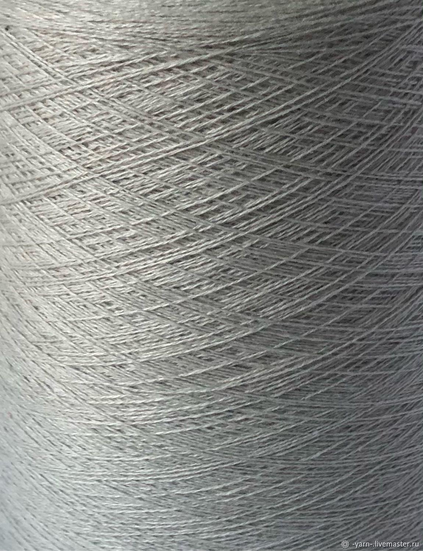 Пряжа Кашемир 2/28 очень светло-серый – купить на Ярмарке Мастеров – N5TQERU | Пряжа, Санкт-Петербург