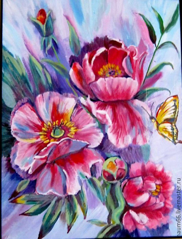 Цветы из акрила купить доставка цветов в бердске недорого
