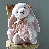 Куклы и игрушки ручной работы. Ярмарка Мастеров - ручная работа Зайка Тедди Розовая Зайка. Handmade.