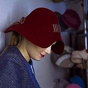 """Аксессуары ручной работы. Ярмарка Мастеров - ручная работа Широкополая шляпа """"Пеппи"""". Handmade."""