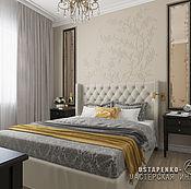 Дизайн и реклама ручной работы. Ярмарка Мастеров - ручная работа Дизайн интерьера спальни в стиле совремменая классика. Handmade.