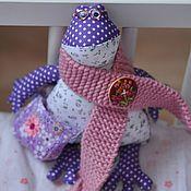 Куклы и игрушки ручной работы. Ярмарка Мастеров - ручная работа Лягушка Ипполит. Handmade.