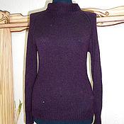 Одежда ручной работы. Ярмарка Мастеров - ручная работа Кашемировый вязаный свитер Монвизо, 100% кашемир Loro Piana. Handmade.