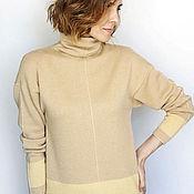 Одежда handmade. Livemaster - original item Cashmere sweater for spring. Handmade.