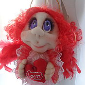 """Куклы и игрушки ручной работы. Ярмарка Мастеров - ручная работа Авторская кукла """"Ангел Любаша"""". Handmade."""