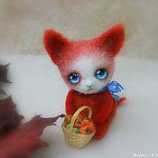 Куклы и игрушки ручной работы. Ярмарка Мастеров - ручная работа Котик Осенний. Handmade.