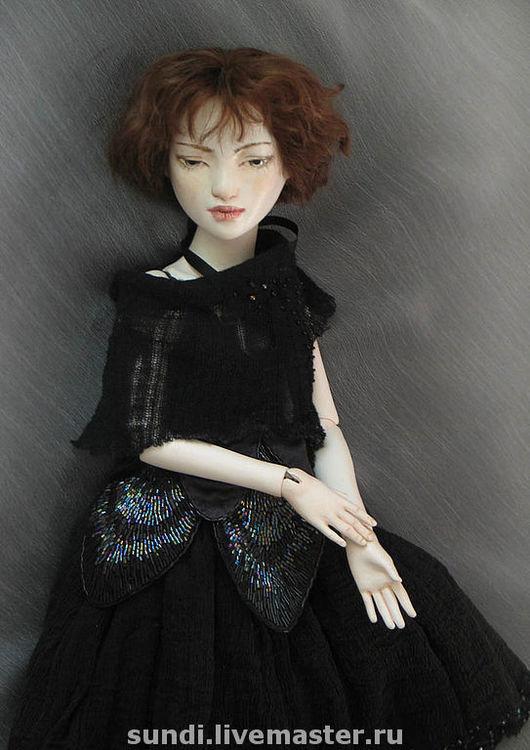 Коллекционные куклы ручной работы. Ярмарка Мастеров - ручная работа. Купить Денеб. Handmade. Шарнирная кукла