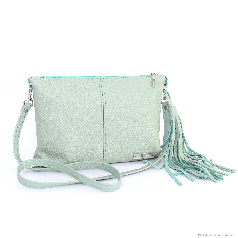 Mint bag with shoulder strap - Crossbody Mint, Crossbody bag, Moscow,  Фото №1