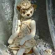 """Куклы и игрушки ручной работы. Ярмарка Мастеров - ручная работа Кошка """"Изабелла"""" коллекция Hugglets. Handmade."""