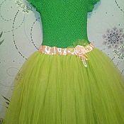 Работы для детей, ручной работы. Ярмарка Мастеров - ручная работа Платье из фатина. Handmade.