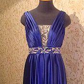 Одежда ручной работы. Ярмарка Мастеров - ручная работа Платье в пол с открытой спиной. Handmade.