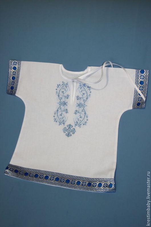 размер 62-68(длина рубашки 42 см.)