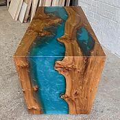 Для дома и интерьера handmade. Livemaster - original item Desktop made of slabs of elm
