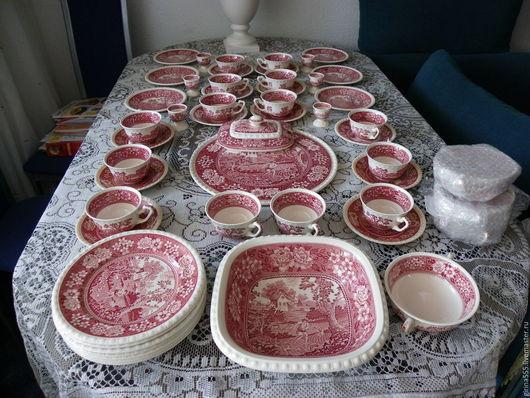 Винтажная посуда. Ярмарка Мастеров - ручная работа. Купить Веллерой унд Бох Роскошь Рустиканы Чайный сервиз. Handmade.