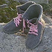 Обувь ручной работы. Ярмарка Мастеров - ручная работа Полусапожки в стиле БОХО. Handmade.