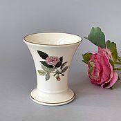 "Винтажные предметы интерьера ручной работы. Ярмарка Мастеров - ручная работа Wedgwood Винтажная ваза ""Rose"". Handmade."